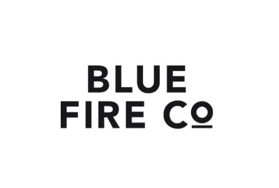 Blue Fire Logo Modehaus Heuberger