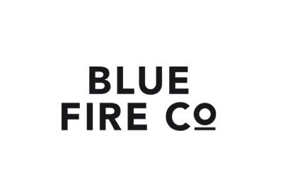 Blue Fire Logo Modehaus Heuberger