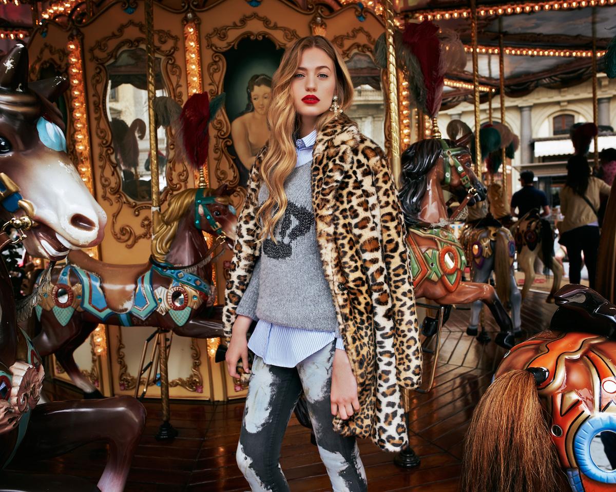 RichRoyal Herbstkollektion: Animal-Muster, Print-Pulli, Buse und Jeans